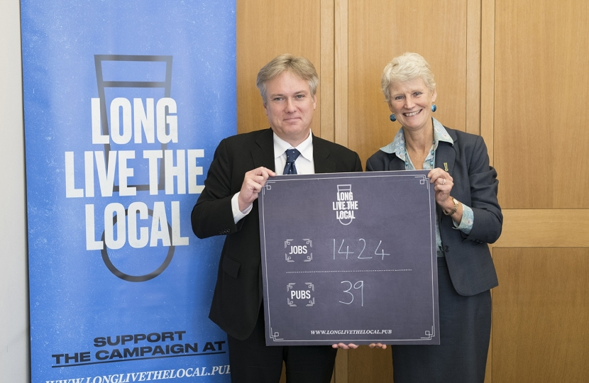 MP pledges Support for Local Pubs in Crawley