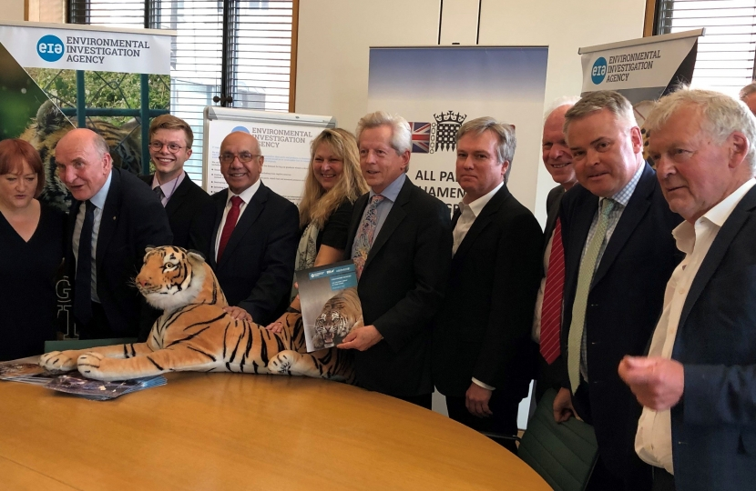Henry Smith MP Joins Calls to End Big Cat Trade