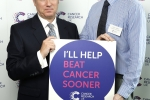 Henry Smith MP pledges to Help Beat Cancer Sooner