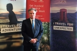 Henry Smith MP joins Visit Britain to promote Tourism in Crawley