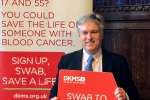 Henry Smith MP continues the Fight Against Blood Cancer