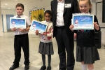 Crawley MP congratulates 2018 Christmas Card Competition Champion