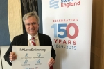 Henry Smith MP Backs #loveswimming Campaign
